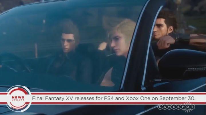Final Fantasy XV release date leak