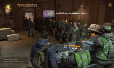 The Division queues patched
