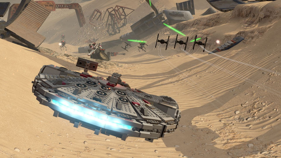 LEGO Star Wars: The Force Awakens - Millennium Falcon