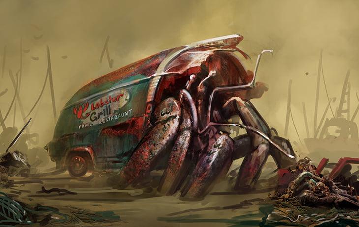 Fallout 4 Far Harbor hermit crab