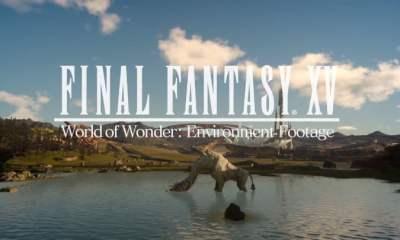 Final Fantasy XV environment