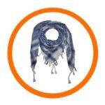 Nathan Drake cosplay scarf