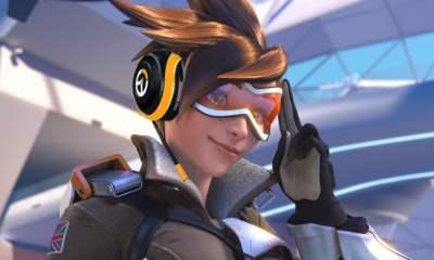 Overwatch Razer headset - Tracer