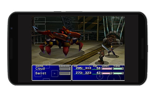 Final Fantasy VII Android screenshot