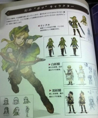 Hyrule Warriors Linkle book