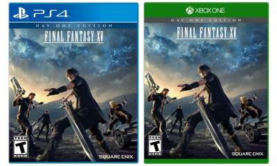 PS4 Xbox One Final Fantasy XV box art