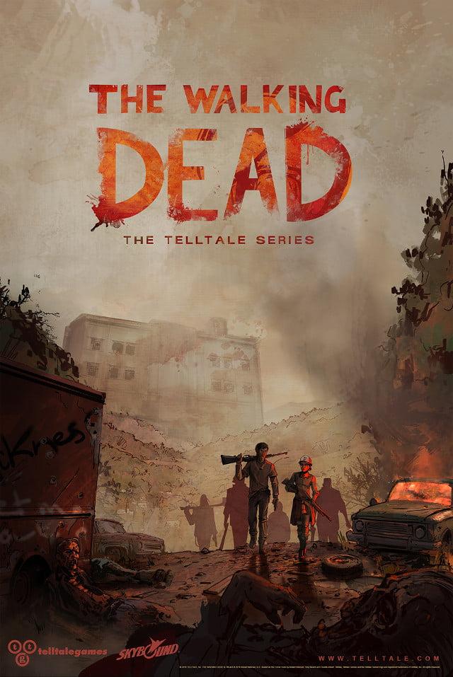 Telltale Games The Walking Dead Season 3 SDCC art