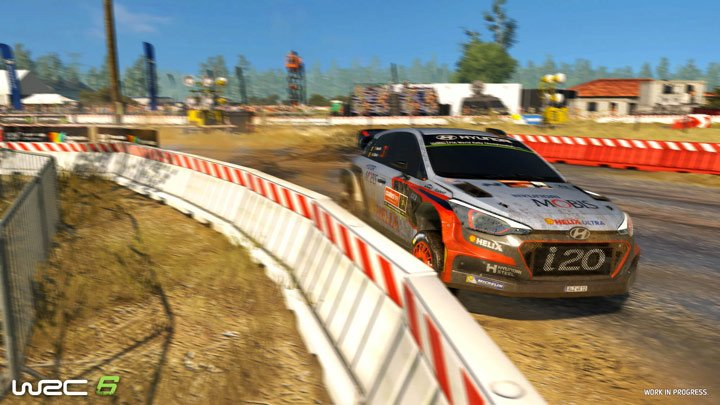 WRC6 Screenshot 1