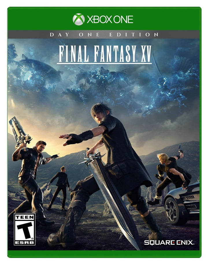 Xbox One Final Fantasy XV box art