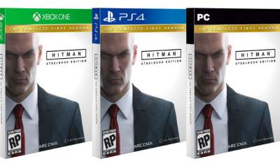 Hitman: The Complete First Season box art