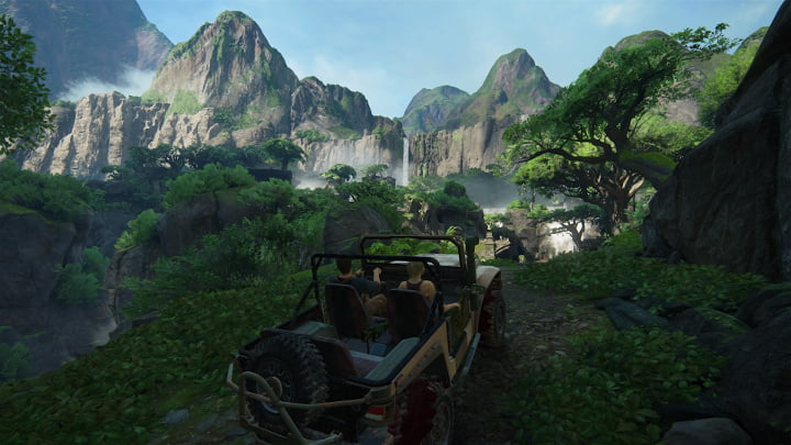 Uncharted 4 photo mode - Driving Miss Elena part 1