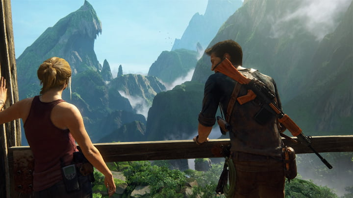 Uncharted 4 photo mode - Elena and Nate