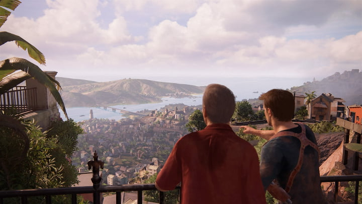 Uncharted 4 photo mode - Sam's tower