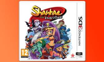 Shantae and the Pirate's Curse - 3DS boxed