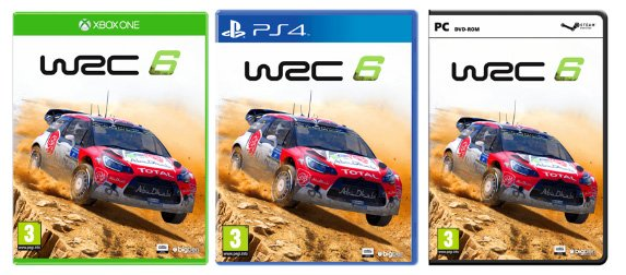 Citroën DS3 WRC 6 cover art