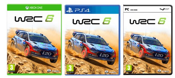Hyundai i20 WRC 6 cover art