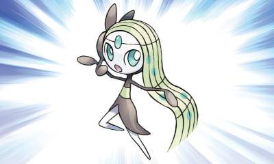 Mythical Pokémon Meloetta