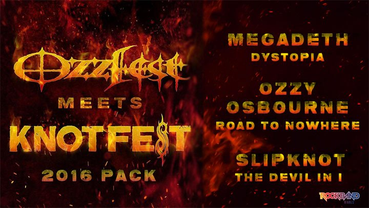 Rock Band 4 celebrates Ozzfest and Knotfest with new DLC – Thumbsticks