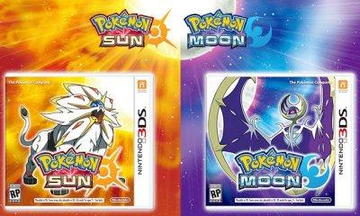 Pokemon Sun Moon Box art