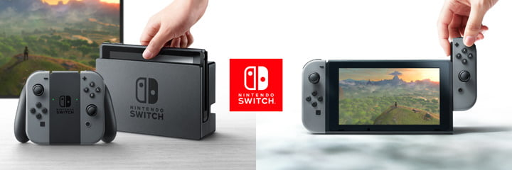 Nintendo Switch - Docked and Undocked