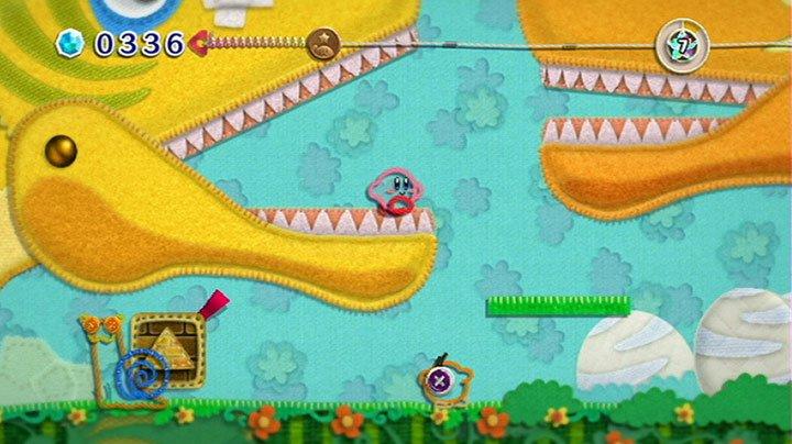 Nintendo Wii - Kirby's Epic Yarn