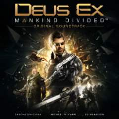 Deus Ex: Mankind Divided - soundtrack cover art