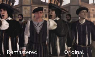 The Ezio Collection - freaky NPC