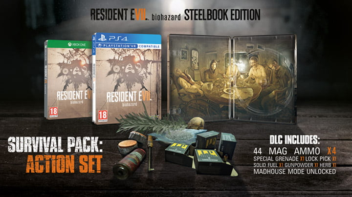 Resident Evil 7 - Steelbook