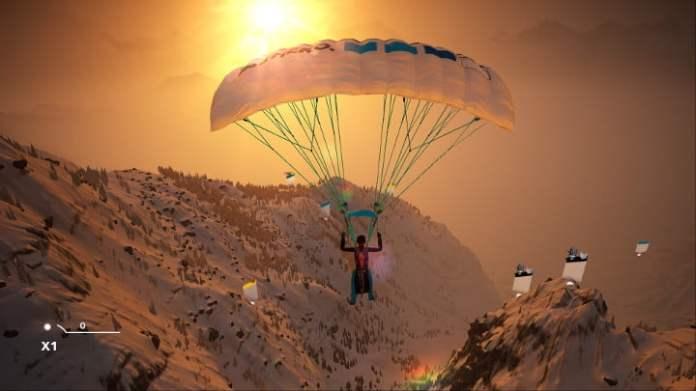 Steep paragliding