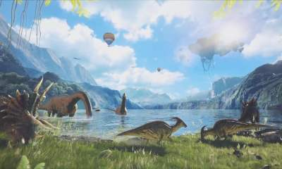 ARK Park virtual reality dinosaurs