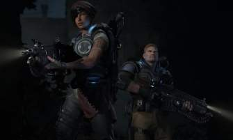 Gears of War 4 JD and Kate