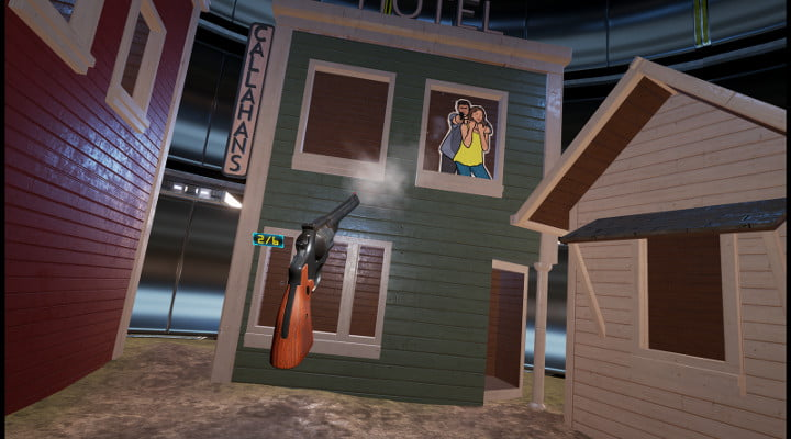 Lethal VR Shooting Gallery