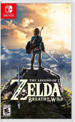 Nintendo Switch - Legend of Zelda box art
