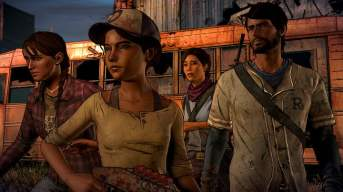 The Walking Dead - A New Frontier cast