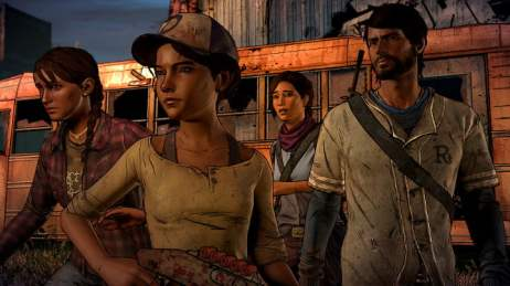The Walking Dead - A New Frontier cast