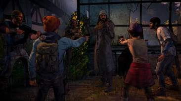 The Walking Dead - A New Frontier Clementine and Jesus