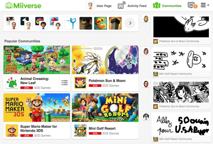Miiverse officially closing down in November