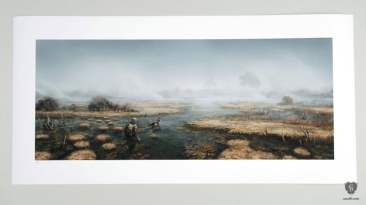 Fallout 4 art print marshes