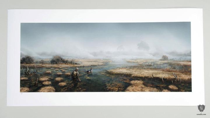 Fallout 4 art print marshes