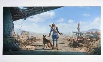 Fallout 4 art print neighbourhood patrol