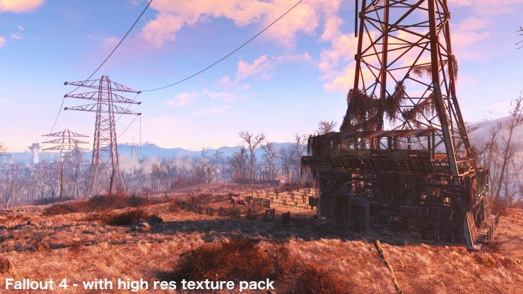 Fallout 4 high res texture pack