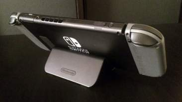 Nintendo Switch using the Wii U GamePad Stand - Back