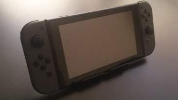 Nintendo Switch using the Wii U GamePad Stand - Front
