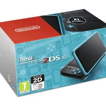 New Nintendo 2DS XL - Black/Turquoise