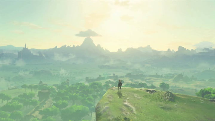 Breath of the Wild the Great Plateau