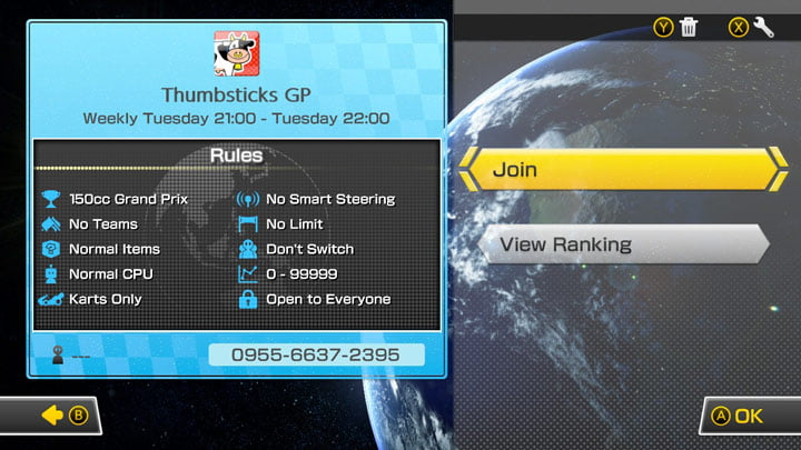 How To Set Up An Online Mario Kart 8 Deluxe Tournament