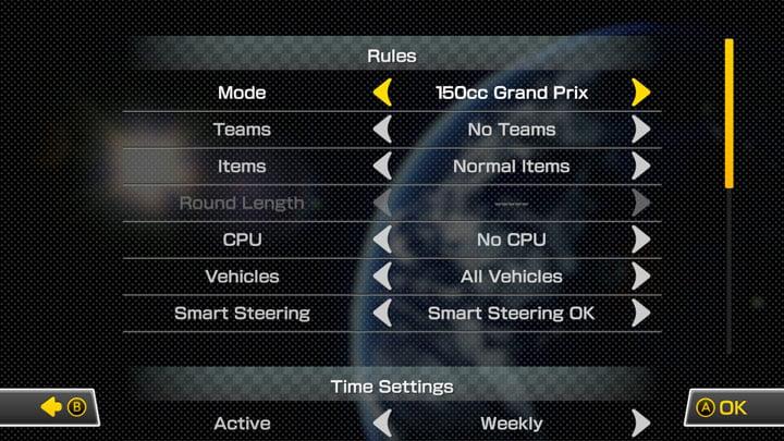 Mario Kart 8 Deluxe Online Tournaments
