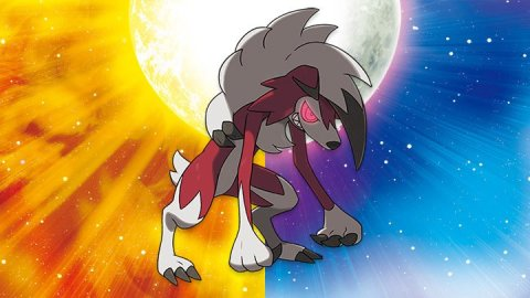 Lycanroc -Pokémon Sun and Moon