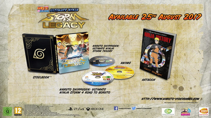 Naruto Shippuden: Ultimate Ninja Storm Legacy and Trilogy Launches Next Month