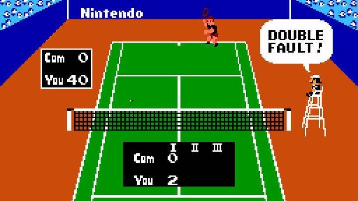 Tennis (1984, NES)